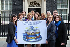25 years of the Payroll Giving Scheme