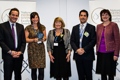 Top employers recognised at National Payroll Excellence Awards 2013