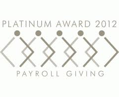 Payroll Giving Scheme Platinum Award