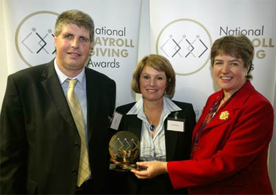 Wendy Tapping National Payroll Giving Awards