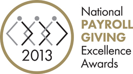 National Payroll Giving Excellence Awards 2013
